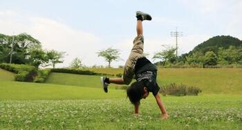運動ができるというのは、自分の体を自分の思いどおりに動かすことができること